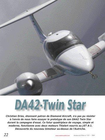 Christian Dries, étonnant patron de Diamond Aircraft, n'a pas pu ...