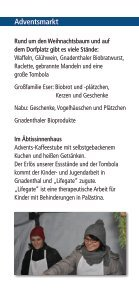 Begegnung im Advent Kloster Gnadenthal - Seite 2