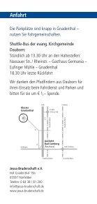 Begegnung im Advent Kloster Gnadenthal - Seite 6