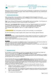 Nieuwsflash Klinisch Laboratorium 2012 - nr 3 - AZ Sint-Maarten