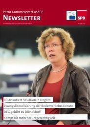 Ausgabe 05/2013 - Petra Kammerevert