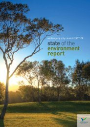 State of Environment Report 2007-08 - Wollongong City Council