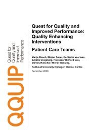 Quality Enhancing Interventions Patient Care Teams - Health ...