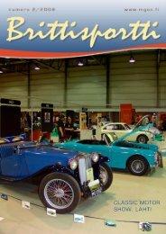 Brittisportti - MG Car Club Finland Ry