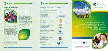 Fostering Innovative Labour Market-Oriented Educational ... - JELARE