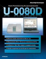 U-0080D - Hitachi High Technologies America, Inc