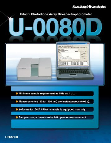 U-0080D - Hitachi High Technologies America, Inc