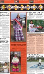 Crysten Smith Earns Title of Little Miss Seminole - Seminole Tribe of ...