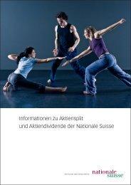 nas 04009-03 Informationen zu Aktiensplit.indd - Nationale Suisse ...