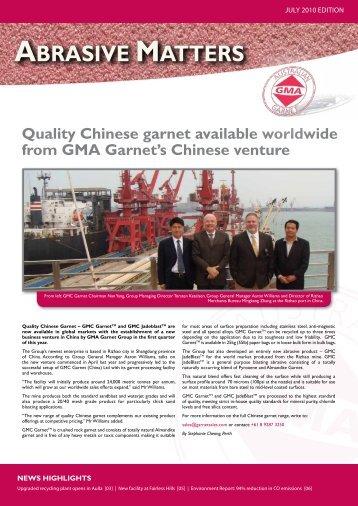 Download PDF - GMA Garnet