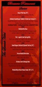 Brasserie menu - Shetland Hotels - Page 3