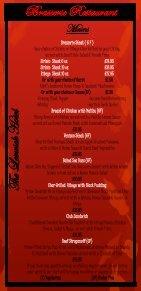 Brasserie menu - Shetland Hotels - Page 4