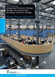 Integrated Product Design Design for Interaction Strategic Product ...
