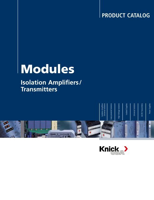Complete Catalog Modules (6.34 MB) - Knick USA
