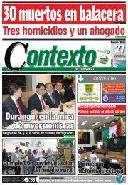 27 - Contexto de Durango