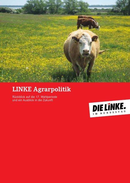 LINKE Agrarpolitik - DIE LINKE. Alexander Süßmair, MdB