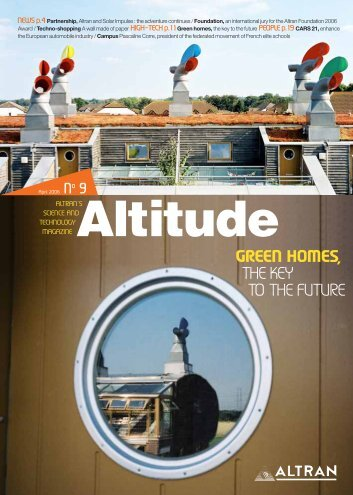 GREEN HOMES, THE KEY TO THE FUTURE - Altran