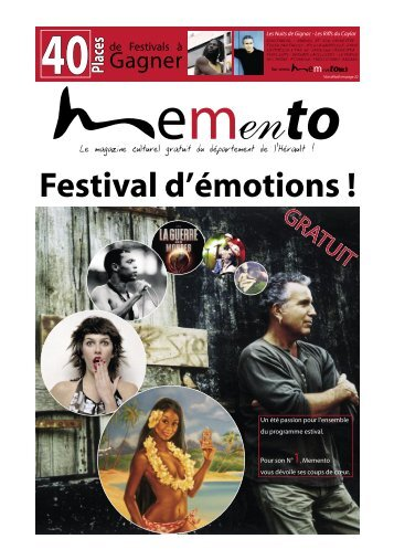 Gagner GRATUIT - Memento, le culturel gratuit en Languedoc ...