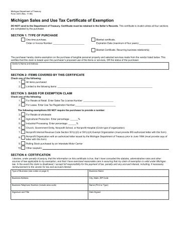 Tax Exempt Form  Pdf  Vista Technologies
