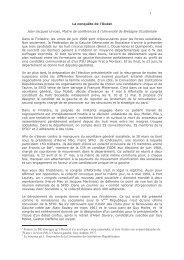 La conquête de l'Ouest - Fédération du Finistère du Parti socialiste