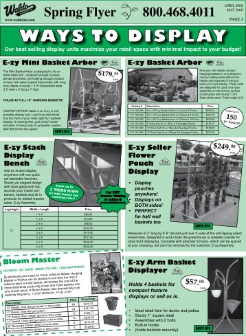 Spring Flyer 800.468.4011 - Waldo & Associates, Inc.