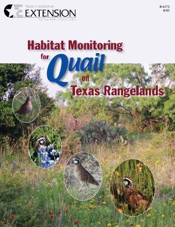 Habitat Monitoring - Trinity Waters