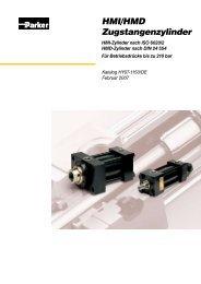HMI/HMD Zugstangenzylinder - Siebert Hydraulik & Pneumatik