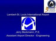 Lambert Airport - Jerry Beckmann 121102 - the St. Louis Council of ...