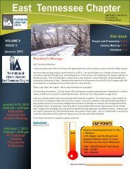 East Tennessee Chapter - The Institute of Internal Auditors