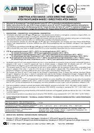 direttiva atex 94/9/ce / atex directive 94/9/ec / atex richtlinien 94/9/ec ...