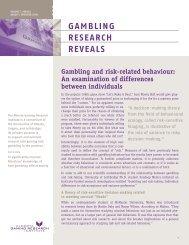 Issue 6, Volume 7 - August / September 2008 - Alberta Gambling ...