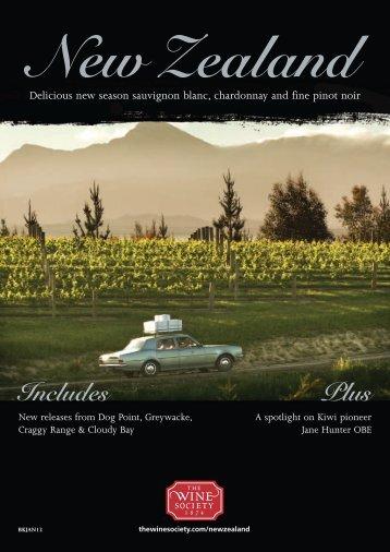 New Zealand - The Wine Society
