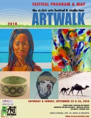 Festival Program & maP saturday & sunday ... - Bridgelin.ca