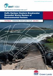 Coffs Harbour Eastern Breakwater Remedial Works Review ... - Land