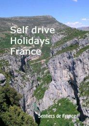brochure self drive tour 2012 - Sentiers de France
