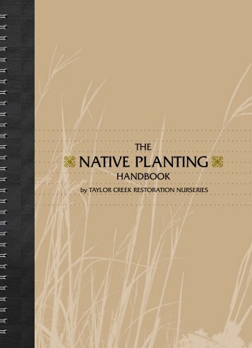 How To Handbook - Taylor Creek Restoration Nurseries