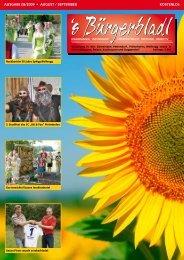 ausgabe 08/2009 ? august / september kostenlos - Druckservice Weiss