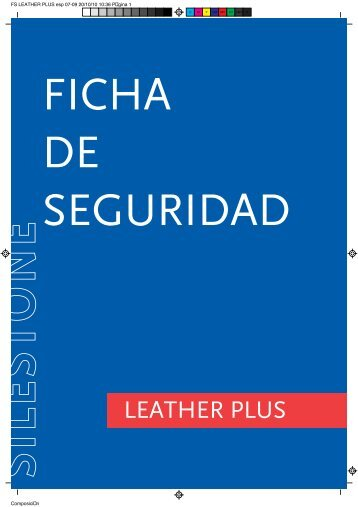 Ficha de Seguridad Leather Plus - Silestone