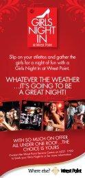 Girls Night In Brochure - Wrest Point Hotel Casino