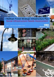 Social Infrastructure - Waltham Forest Council