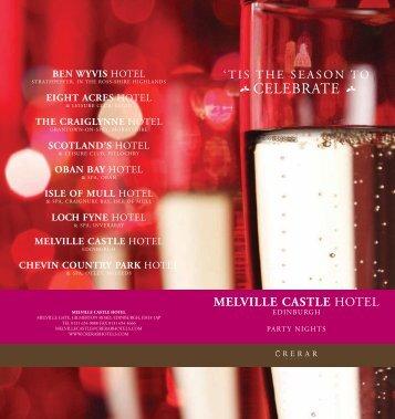 CELEBRATE - Crerar Hotels