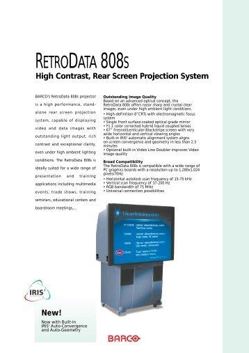 RetroData 808s Brochure - CurtPalme.com