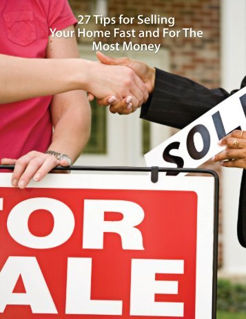 27 Tips for Selling Your Home Fast and For The Most Money