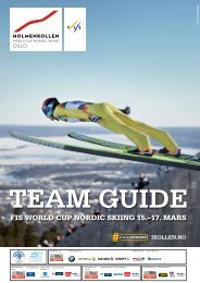 fis world cup nordic skiing 15.–17. mars - Holmenkollen Oslo