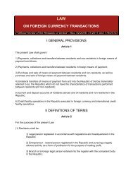 law on foreign currency transactions
