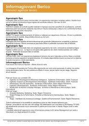 Informagiovani Berico - Comune di Poiana Maggiore