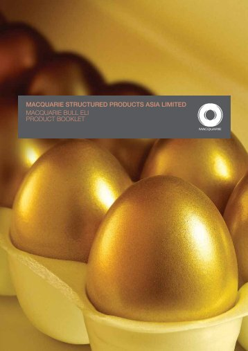 Macquarie Bull ELI Product Booklet