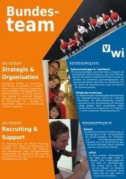 Bundesteams - VWI Hochschulgruppe Dresden eV