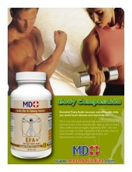EFA+ and fat loss - MD+ Store
