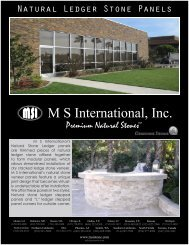 Ledger Panel Collection_old1.pdf - MSI Stone